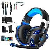 Tsing-Gaming-Headset Over-Ear-Kopfhörer mit Mikrofon für PC Computer GS 500