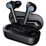 ELEGIANT Bluetooth Kopfhörer kabellos in Ear Ohrhörer Bluetooth 5.0 Headset Wireless Earbuds Stereo Sport Drahtlos Kopfhörer mit tragbar Ladekästchen, 24 Std Spielzeit, Touch Steuerung für iOS Android