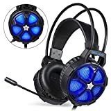 Gaming Kopfhörer, EasySMX COOL 2000 gaming Headset für MAC/PC / PS4/Xbox One/Nintendo Switch