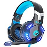 VersionTECH. Gaming-Headset BX022 blau blau