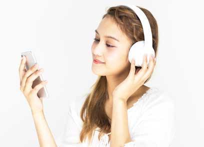 bluetooth-headset-musik-hören