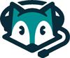 Fuchs mit Headset als Logo für den Blog www.headset-fuchs.de
